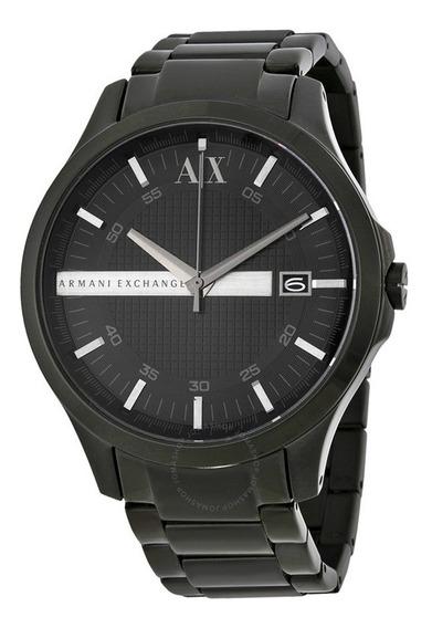 Relógio Masculino Armani Exchange Ax2104 Preto Original