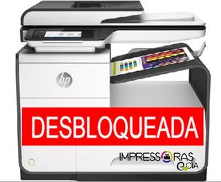 Impresora Hp Pagewide 477dw Liberada
