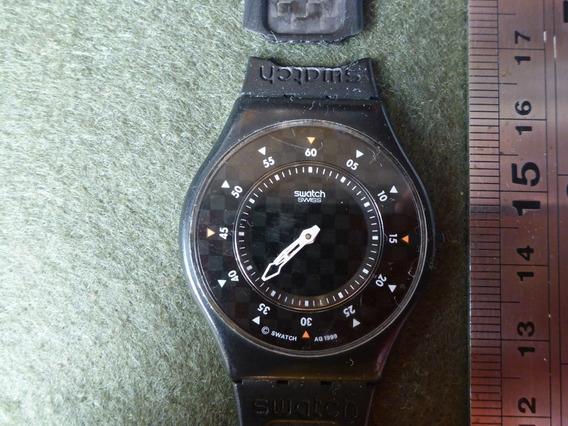 Relógio Swatch Skin Carbon, Suiço, Water Resistent