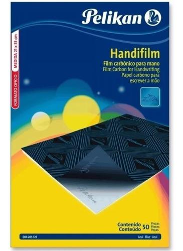 Papel Carbonico Handifilm Pelikan Hoja Individual Azul