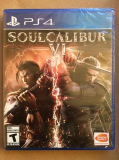 Soul Calibur Vi Ps4 Nuevo Sellado Envíos