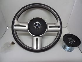 Volante Rally Aluminio Escovado Mercedes Benz Axor Atego