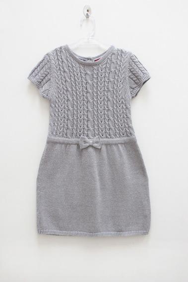 Vestido De Lã - Tam. 3 A 4
