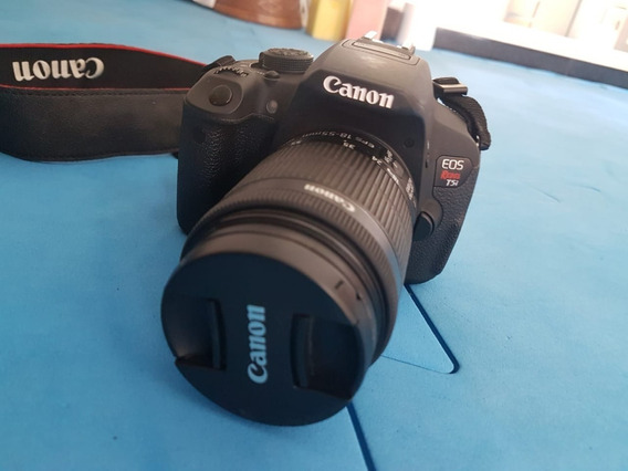 Canon Rebel T5i Lente 18-55mm + Tripé Fotopro + Cartão 32gb