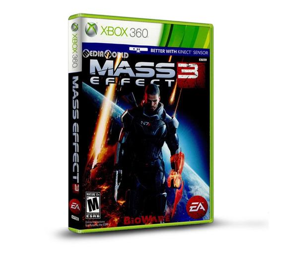 Mass Effect 3 - Original Xbox 360 - Novo