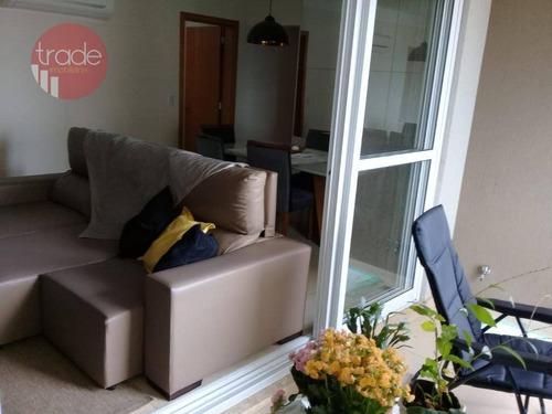 Apartamento Com 3 Dormitórios À Venda, 106 M² Por R$ 535.000 - Jardim Paulista - Ribeirão Preto/sp - Ap5313