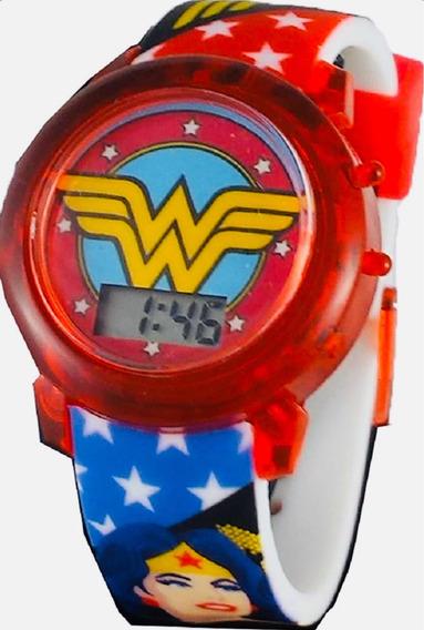 Reloj Wonder Woman Jr Nuevo Original Dc