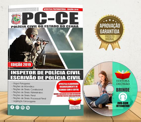 Apostila Polícia Civil Do Ceará 2019 - Inspetor E Escrivão