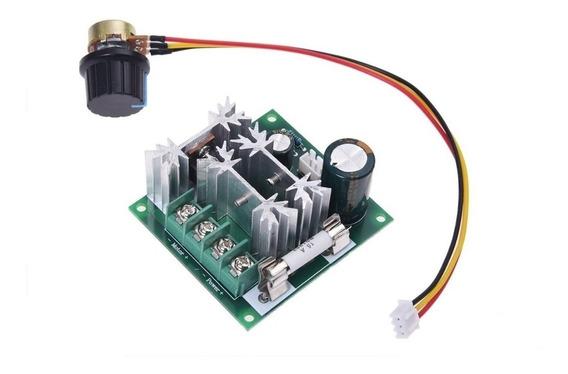 Controlador De Velocidade Para Motor 6-90v 15a Pwm 0 A 100%