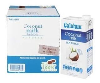 Leche De Coco Calahua 6 Pzas De 1l