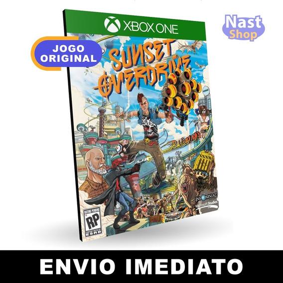 Sunset Overdrive Xbox One Mídia Digital Envio Imediato