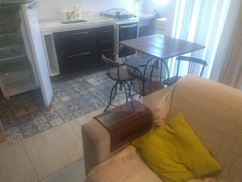 Imagem 1 de 8 de Flat Com 1 Dormitório À Venda, 49 M² Por R$ 250.000,00 - Glória - Macaé/rj - Fl0006