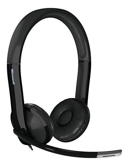 Fone Com Microfone Microsoft Lx-6000 Usb - 7xf00001