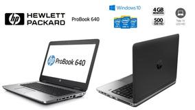 Notebook Hp Probook 640 I5 4gb - 500gb (vitrine)