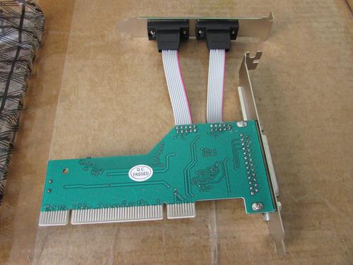 Placa Pci-e Encore Enepc-2s1p 1 Porta Paralela E 2 Serial