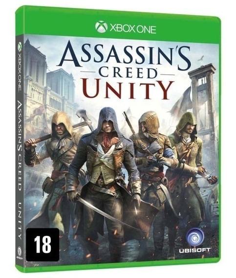 Assassins Creed Unity Xbox One Código