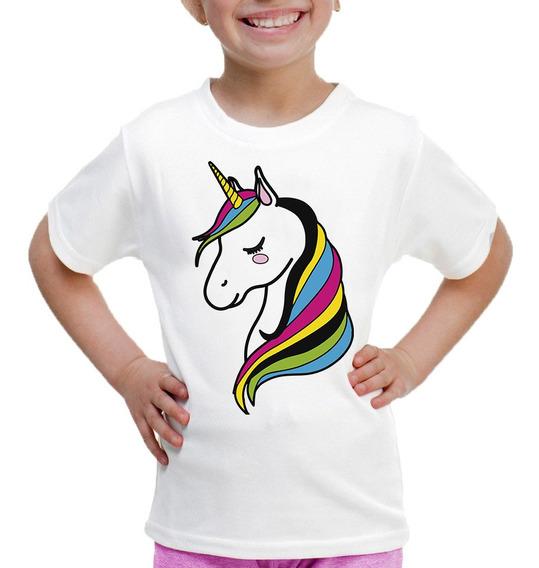 Playera Para Niñas De Unicornio