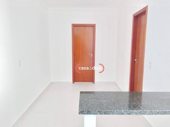 Apartamento Com 1 Dormitório À Venda, 35 M² Por R$ 133.000,00 - Jardim Gonçalves - Sorocaba/sp - Ap0546