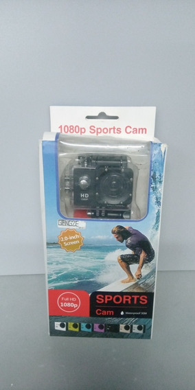 Mini Câmera Esportiva A Prova D