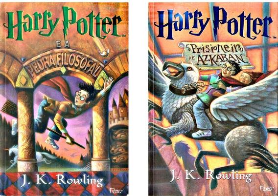 Livros Harry Potter E A Pedra Filosofal Prisioneiro Azkaban