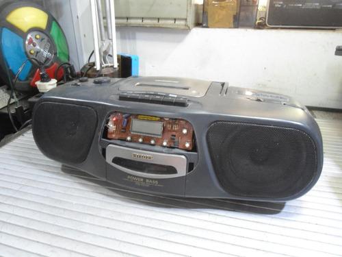 Radio Gravador Aiwa Csd-ex100 - Para Peças Ou Reparos
