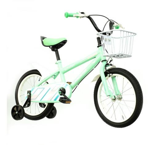 Imagen 1 de 10 de Bicicleta De Paseo R16 Niños Infantil Bke-161 Smiler Randers