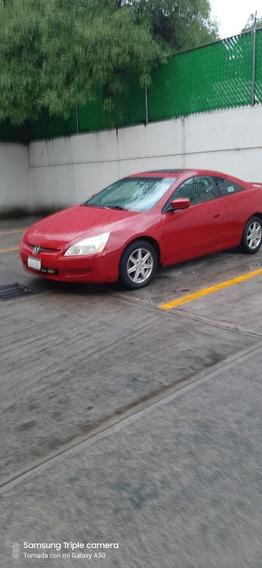 Honda Accord 3.0 Ex Coupe V6 Piel Abs Qc Cd At 2004