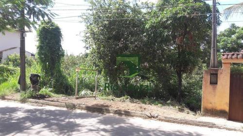 Terreno À Venda, 420 M² Por R$ 110.000,00 - Extensão Serramar - Rio Das Ostras/rj - Te0216