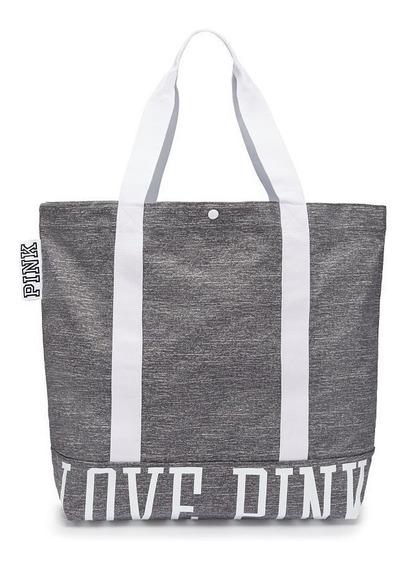 Fitpeople - Victorias Secret Tote Gym Bag Gris