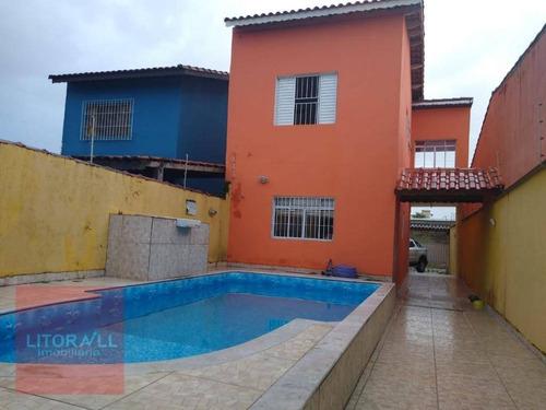 Imagem 1 de 28 de Sobrado Com 2 Dormitórios À Venda, 90 M² Por R$ 300.000 - Estância Balneária De Itanhaém - Itanhaém/sp - So0364