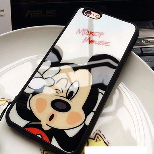Imagen 1 de 2 de Funda Mickey Y Minnie Pareja Para iPhone