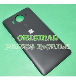 Tampa Traseira Microsoft Lumia 950 Dtv Carcaça Preta