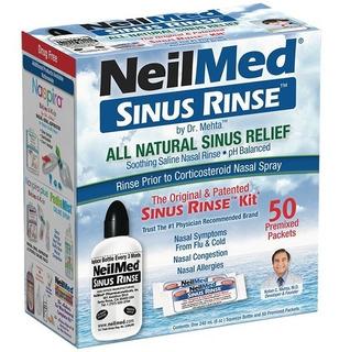 Neilmed Sinus Rinse 1 Bisnaga + 50 Saches Limpador Nasal