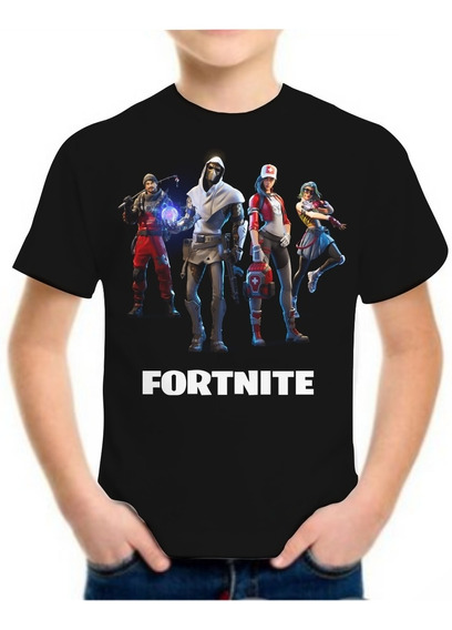Camiseta Fortnite Infantil Jogo Masculina Camisa Roupa Blusa