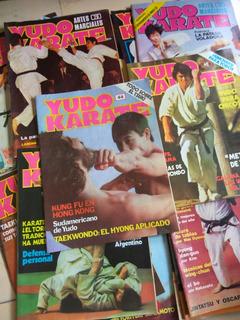 Revista Judo Karate, Jiu Jitsu, Bruce Lee, Libro Artes Marci