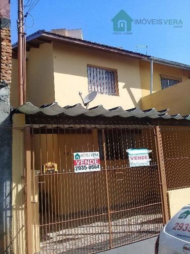 Sobrado Com 2 Dormitórios, 80 M² - Venda Por R$ 520.000 Ou Aluguel Por R$ 2.200/mês - Vila Santa Clara - São Paulo/sp. Consulte-nos! - So0156