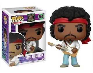 Funko Pop Jimi Hendrix Woodstock #54 - Entrega Inmediata!