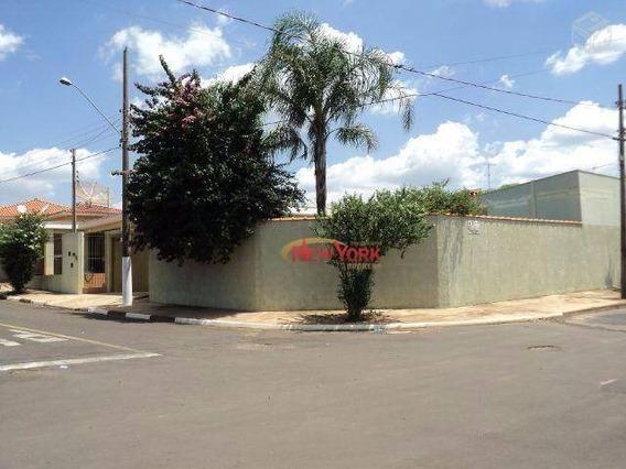Casa Residencial À Venda, Jardim Mezane, Ibaté. - Ca0802