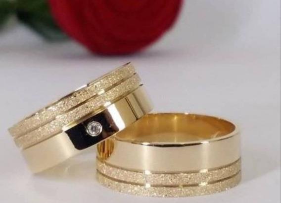 Par De Alianças Casamento