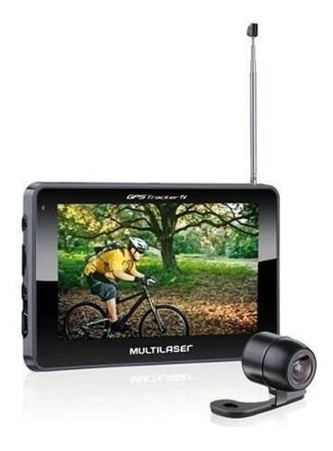 Navegador Gps 4.3 Multilaser Gp035 Tracker C/ Cam Re
