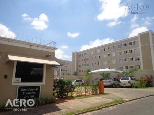 Apartamento Residencial Para Venda E Locação, Jardim Terra Branca, Bauru. - Ap0990