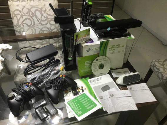 Xbox 360 Slim Desbloqueado Hd 250gb (não Acompanha O Kinect)