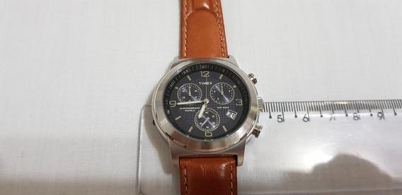 Relógio Masculino Timex Cronografo Funcionamento Perfeito