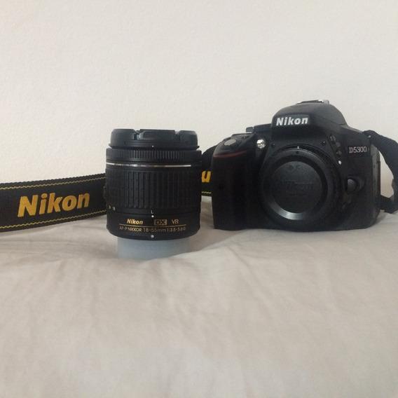 Câmera Dslr Nikon D5300 Com Wi-fi, Gps E Tela Retrátil