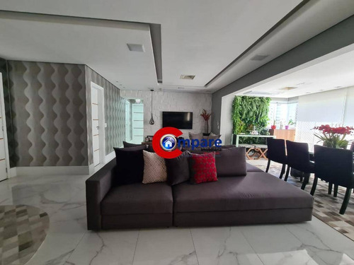 Apartamento Com 3 Dormitórios À Venda, 122 M² Por R$ 1.200.000,00 - Jardim Flor Da Montanha - Guarulhos/sp - Ap9151
