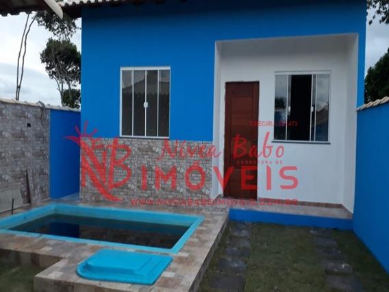Casa De 1 Quarto Com Piscina E Churrasqueira, Unamar, Cabo Frio - Vcac 216a - 33801566