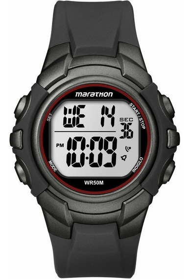 Relógio Cronômetro Timex Marathon Indiglo T5k642 Original