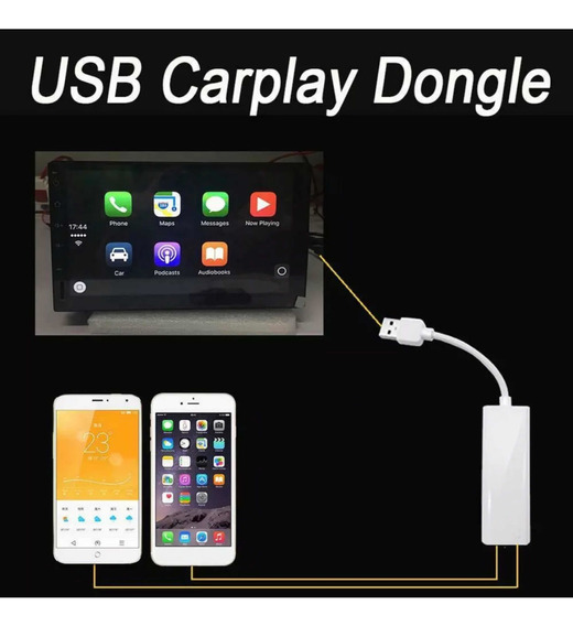 Adaptador Usb Para Carplay E Androidauto