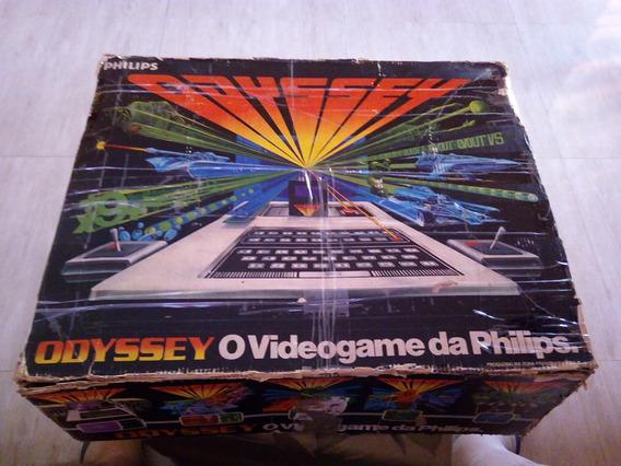 Lindo Vídeo Game Odissey Philips Na Caixa Ótimo Estado