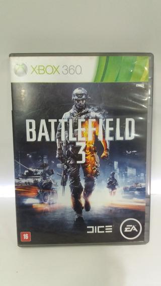 Jogo Battlefield 3 Somente Disco Multplay Xbox 360 Microsoft